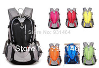 Wholesale L Nylon outdoor climbing backpacks waterproof sport camping hiking travel bag mochila bolsas bolsos