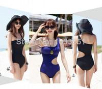 Bikinis beauty one piece swimwear - Beauty One Shoulder Swimsuit Monokini Bathing Suit One Piece Women Swimwear