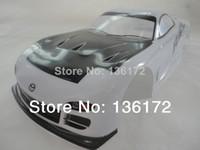 Wholesale RC car PVC painted Body Shell mm White No W