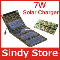 Emergency / Portable honest wholesale - pcsFree ship honest store W High efficiency outdoor solar panel charger Folding solar charging bag