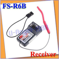 other other other Wholesale-407-+FLYSKY FS T6 FS-R6B 6CH Receiver For RC Helicopter Airplane Glider