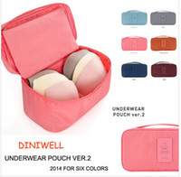 used clothing - 6 colors Multifunctional travel to receive clothing bag used for travel within the bra bag to receive bag LJJC20