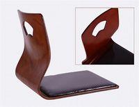 cheap furniture - Cheap Chair For Living Room Furniture Fan Shape Japanese Floor Tatami Zasiu Legless Chairs4 Colors Meditation Backrest Cheap Chair
