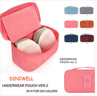 Wholesale 6 colors Multifunctional travel to receive clothing bag used for travel within the bra bag to receive bag LJJC20