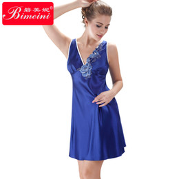 Wholesale Women Silk Sleepwear Set Charming Casual Suspender Skirt Flowers Pajamas Elegant Ladies Panties V Neck Fashion Lady Sexy Dresses