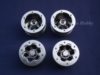 Wholesale Promise Hobby silver ring alloy beadlock wheel set for rc Rock Crawlers Buddies Cars