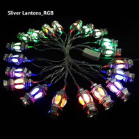 Wholesale RGB AC220V V led string light modeling outdoor decoration for Festival wedding party MOQ is