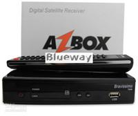 Wholesale Azbox Bravissimo HD Satellite Receiver Twin Tuner Support Nagra3 Decoder