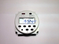 Wholesale Round V Digital LCD Power Programmable Timer Time Switch Relay A AC H0011