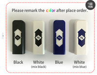 Wholesale USB Electronic Rechargeable Flameless Cigar Cigarette Lighter LED Rechargeable Cigarette Flameless Lighter Windproof