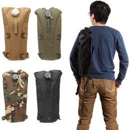 Wholesale Ship from USA Multicolor L Hydration Packs Tactical Water Bag Assault Backpack Hiking Pouch Backpacks Shoulder Bag