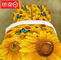 Polyester / Cotton Knitted Home BX00057 Home Textile 3D Bedding Set bed cover duvet cover sets linens bed in a bag comforter sets bedclothes bed in a bag