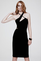 2014 Fashion Dresses Runway style New Arrival One piece body...