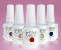 Wholesale I Do Gelish Nail Polish Soak Off UV LED Gel Polish Fashion Colors Available UV Nail Gel Polish