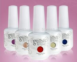 Wholesale I Do Gelish Nail Polish Soak Off UV LED Gel Polish Fashion Colors Available UV Nail Gel Polish
