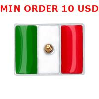 Wholesale MEXICO FLAG Floating charms for memory living locket