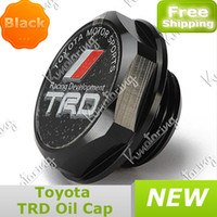 toyota engine - Auto Billet Aluminum For Plug Engine Fuel Oil Filler Cover Cap fit for Toyota TRD Tank