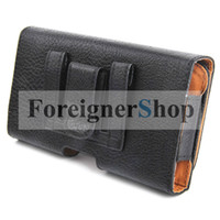 Cheap For Samsung belt clip Best Leather Black n9000 iphone