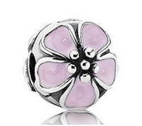 Cheap Crystal Beads Best Flowers Silver European Charm