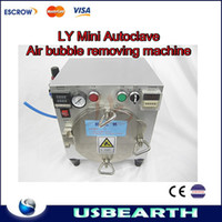 300*300*300mm white 20mm MINI Autoclave Air Bubble Removing Machine for cleaning bubble after laminating, mobile LCD refurbishment