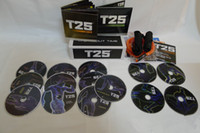 Cheap 14 DVDS Fitness Insanity Workout T25 Focus MIB Band Shaun T's T25 Slimming Body Building Teaching Video Muscle Shaping 2014 Top Sale