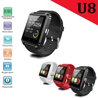 Cheap Bluetooth Smartwatch U8 U Smart Watch Wrist Touch Watches Mate for iPhone IOS 7 4S 5 5S Samsung S4 S5 Note 2 3 HTC Android Phone Smartphone