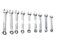 Wholesale Piece Double Open End Ring Combination Wrench Machine Car Repairing Wrench Spanner Tool Set