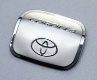 Wholesale Toyota Corolla High quality stainless steel Fuel tank cover Trim
