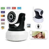 Wholesale LANCAM P2P Plug and Play Outdoor Home Alarm Webcam CCTV Security HD P Wireless Wifi IP Camera Night Vision