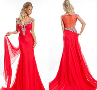 2014 Fall Off The Shoulder Prom Evening Dresses Gorgeous Cry...