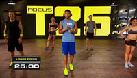 Movie Action & Adventure DVD T Focus T25 With Resistance Band 10 Disc US Version 50pcs