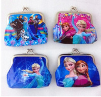 Wholesale 100pcs Frozen Anna Elsa Purse Card Bags by honestgirl09