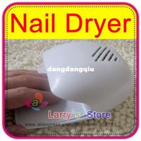 Wholesale Portable Nail Art Acrylic Polish Dryer Blower Paint Battery Operated Mini Fan Touch Sensitive Manicure Stoving Hand Toe Finger
