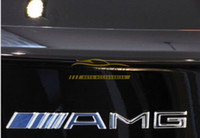 amg decals - 10x Metal Silver Chrome M AMG Decal Sticker Logo Emblem New Hot Good quality Car Badges