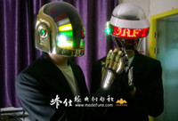Wholesale golden DaftPunk Guy ManTomas Collection edition gold surface gloves