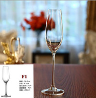 champagne flutes - Crystal champagne cup glass wine cup wedding glass champagne flute goblet lovers cup red wine cup