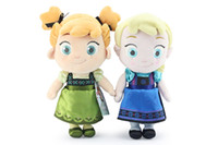 Hot Sale 2014 New Frozen childhood Plush Elsa Anna Soft plus...
