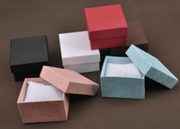Wholesale Watch box jewelry box of high grade gift box table boxes gift boxes