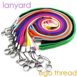 Lanyard of electronic cigarettes ego ego-t ego-k ego-c ego w evod battery mods ego 510 thread starter kits Necklace String Neck Chain
