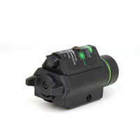 Wholesale Tactical Laser Sight LED Flashlight mW Green Laser Sight With Remote Pressure Switch for Airsoft Outdoor Newest