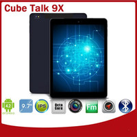 Wholesale Octa Core MTK8392 Cube Talk X phablet Android GB GB GB x1536 IPS MP Camera G Sim Card Slot Tablet PC