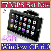 car gps - 7 inch Car GPS Navigator Navigation MB GB WinCE With FM Touch Screen quot with Map