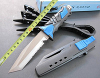 scuba diving equipment - High quality Green blue SCUBA Diving Knife Leggings Knife Diver s knife Outdoor tools survival Equipment camping knife best christmas gift H