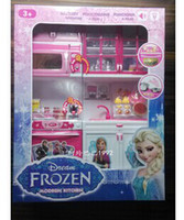 Wholesale Frozen children s toys kitchen mold suit modern kitchen princess play house children s birthday gifts in stock