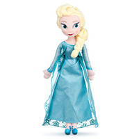 Wholesale 2014 New arrival Frozen Dolls cm inch Elsa Anna Toy doll Action Figures Plush Toy for christmas gift