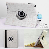 Folding Folio Case 9.7'' For Apple Faerie Magic Girl 360 Rotating Stand Leather Case For iPad Mini Retina Air Tablet PC Case Folio Cover For iPad 2 3 4 5 Samsung Tab P3100 DHL