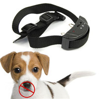 Wholesale Beeper and Static Shock Bark Stop Training Collar Anti Bark No Barking Dog Training Shock Control Collar PET852