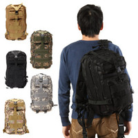 Unisex backpack - Ship from USA L Military Tactical Backpack Rucksacks Sport Camping Molle Trekking Bag D Shoulder Bag Outdoor Bags