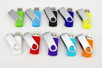 Wholesale 1pcs swivel G USB gift Flash Memory Pen Drives mini Fine GIFT Sticks Disks Discs G Pendrives Thumbdrives