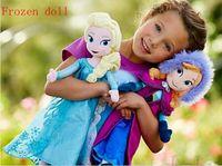 Wholesale 2014 frozen dolls cm inch elsa anna toy doll action figures plush toy frozen dolls
